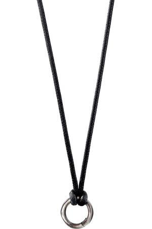 David Yurman Circle amulet necklace