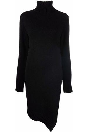 Jil Sander Damen Asymmetrische Kleider - Asymmetric knitted dress