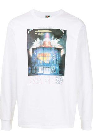A Bathing Ape Bape Invasion long-sleeve T-shirt