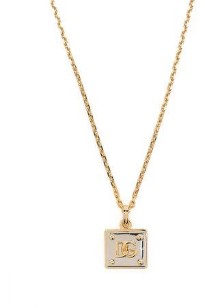 Dolce & Gabbana Herren Halsketten - DG logo necklace