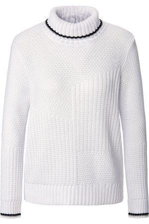Looxent Damen Rollkragenpullover - Rollkragen-Pullover weiss