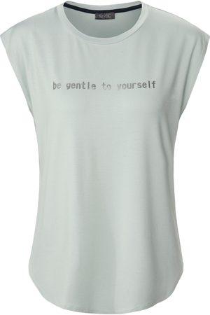 Mybc Damen Shirts - Rundhals-Shirt türkis