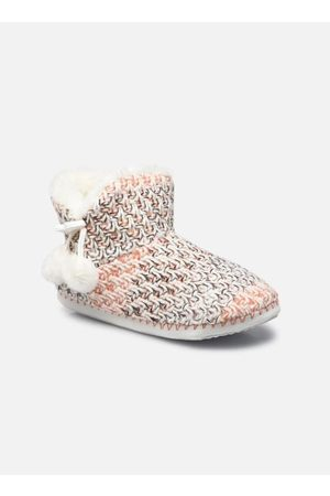 Sarenza Chaussons montants pompons femme by