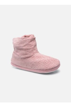 Sarenza Chaussons montants velour femme by