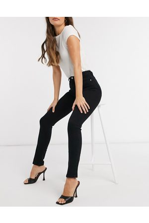 & OTHER STORIES Special organic cotton blend stretch skinny jeans in black