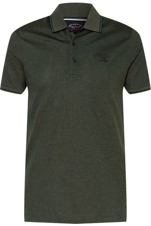 PAUL & SHARK Piqué-Poloshirt Slim Fit gruen