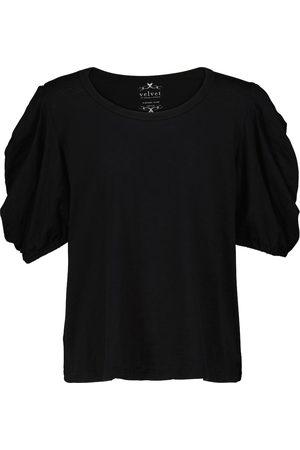 Velvet Damen Kurze Ärmel - T-Shirt Kiera aus Baumwoll-Jersey