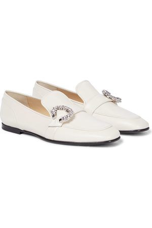 Jimmy Choo Damen Halbschuhe - Loafers Mani aus Leder