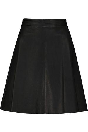 Stouls Damen Miniröcke - High-Rise-Minirock Ivy aus Leder