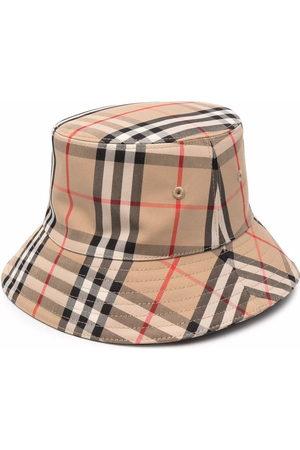 Burberry Hüte - Check-print bucket hat