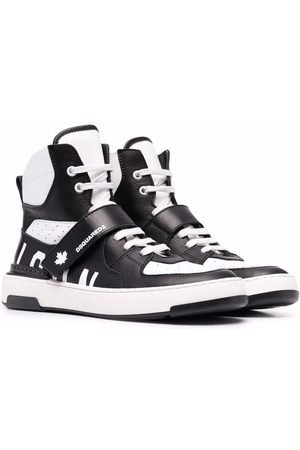 Dsquared2 TEEN lace-up high-top sneakers