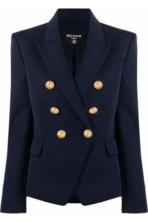 Balmain Double-breasted wool blazer