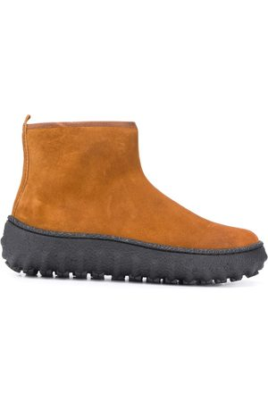 Camper Ground suede-effect ankle boots
