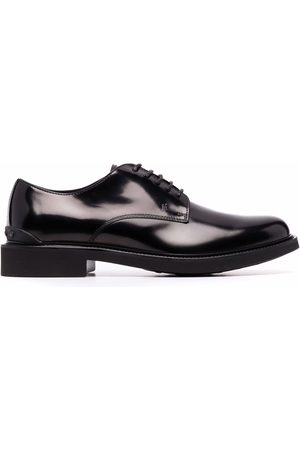 Tod's Herren Halbschuhe - Polished leather derby shoes