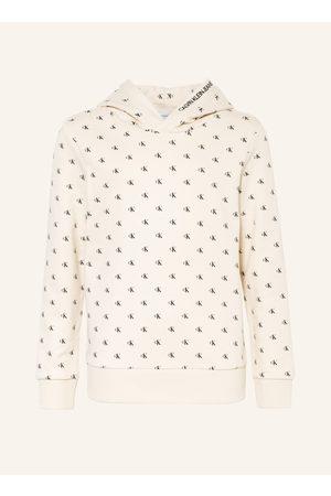 Calvin Klein Damen Sweatshirts - Hoodie weiss