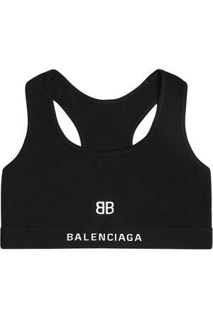 BALENCIAGA Damen Shirts - Sport-bh Aus Baumwolljersey