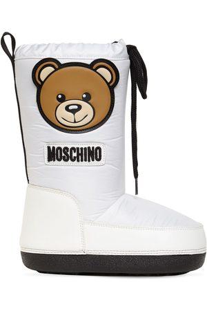 """MOSCHINO Herren Snowboots - Schneestiefel Aus Nylon """"teddy Bear"""""""