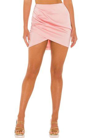 NBD Rose Quartz Mini Skirt in - Pink. Size L (also in XXS, XS, S, M, XL).