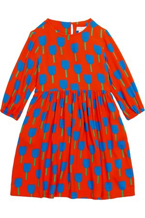 Stella McCartney Bedrucktes Kleid aus Crêpe