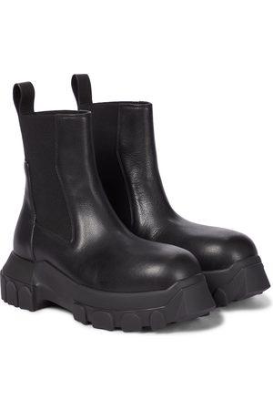 Rick Owens Chelsea Boots Beatle Bozo aus Leder