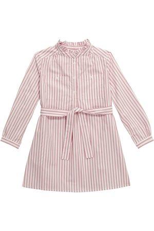 BONPOINT Gestreiftes Kleid aus Baumwolle