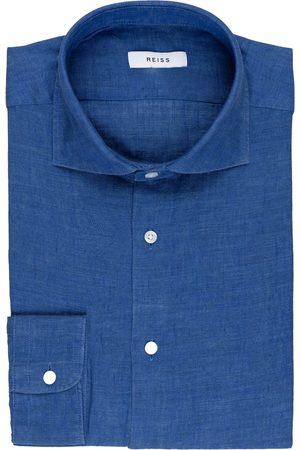 Reiss Herren Business - Leinenhemd Ruban Regular Fit