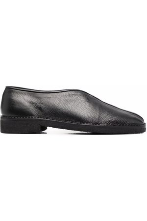 LEMAIRE Herren Halbschuhe - Grained leather slippers