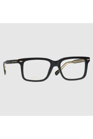 Gucci Rechteckiges Brillengestell