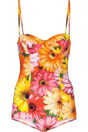 Dolce & Gabbana Bedruckter Badeanzug