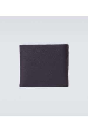 Burberry Faltbares Portemonnaie aus Leder