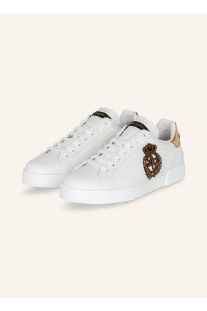 Dolce&Gabbana Herren Sneakers - Sneaker Portofino weiss