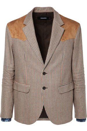 DSQUARED2 Blazer Aus Wollmischung