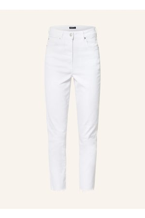 WHISTLES 7/8-Jeans weiss