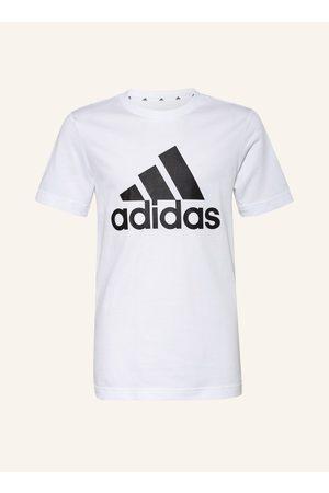 Adidas Herren Shirts - T-Shirt Essentials weiss