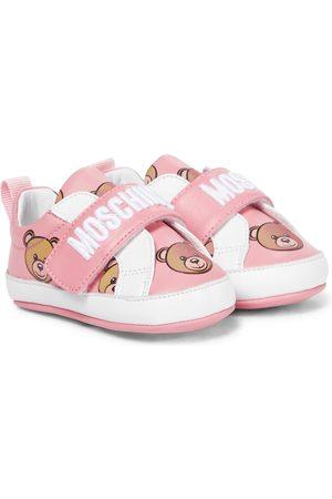 Moschino Kids Sneakers - Baby Sneakers aus Leder