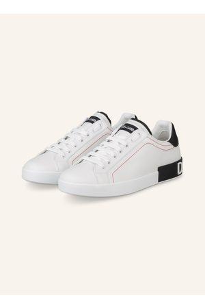 Dolce & Gabbana Herren Sneakers - Sneaker Portofino weiss
