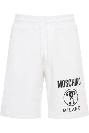 MOSCHINO Shorts Aus Baumwolljersey