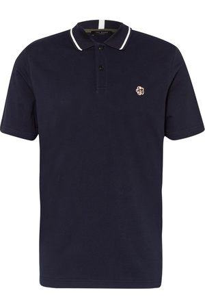 Ted Baker Herren Poloshirts - Piqué-Poloshirt blau