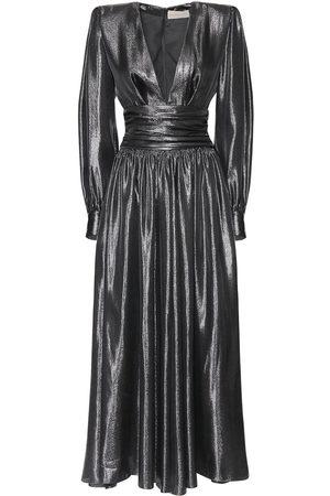 ALEXANDRE VAUTHIER Langes Kleid Aus Lamé-couture