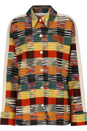 Palm Angels X Missoni Hemd aus einem Wollgemisch