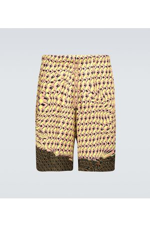 DRIES VAN NOTEN Bedruckte Bermuda-Shorts