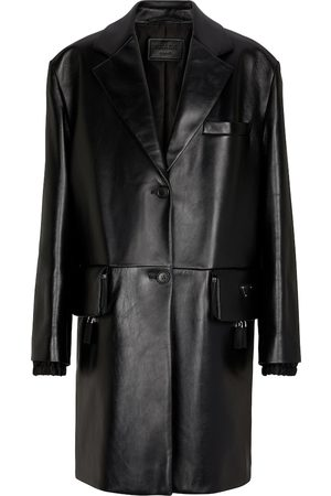 Prada Mantel aus Leder