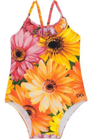 Dolce & Gabbana Kids Baby Bedruckter Badeanzug