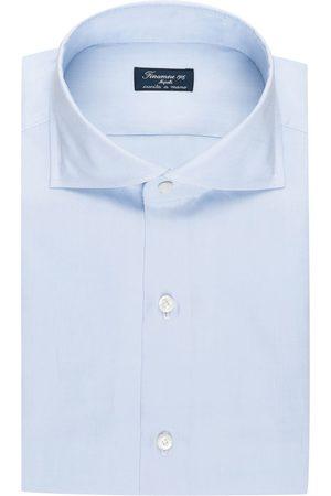 FINAMORE 1925 Herren Business - Hemd Napoli Regular Fit blau