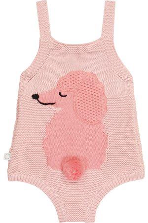 Stella McCartney Baby Strampler aus Baumwolle und Wolle