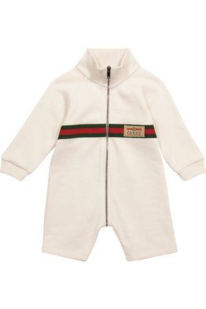 Gucci Kids Baby Bodies - Baby Spieler aus Baumwolle