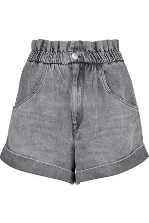 Isabel Marant, Étoile Paperbag-Shorts Itea aus Denim