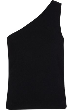 Vince One-Shoulder-Top aus Strick