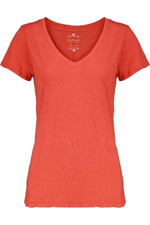 Velvet Kurzärmliges T-Shirt Odelia aus Baumwolle