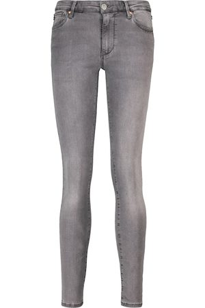 AG Jeans Mid-Rise Skinny Jeans Prima